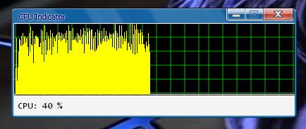 cpuindect Индикатор загрузки ЦП