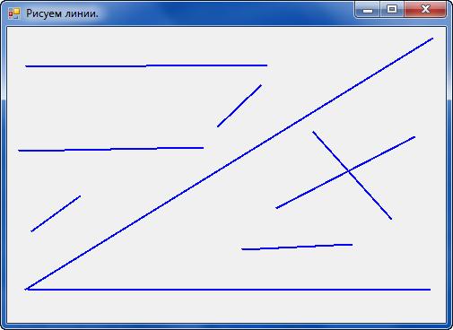 linesrast Рисуем линии мышкой