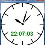 Clock 150x150 Индикатор загрузки ЦП