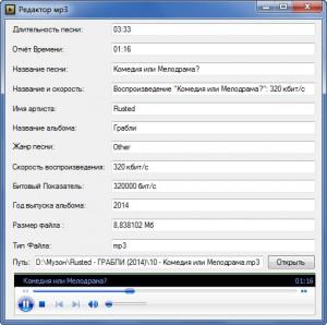 информация о mp3 300x298 Информация о MP3 файле