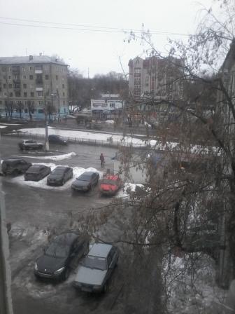 город Эх, зима..