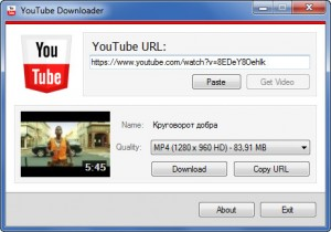 youtubedownloader 300x210 Исходники по C#