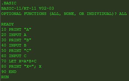 1111 Эмулятор PDP 11 или просто о ДВК