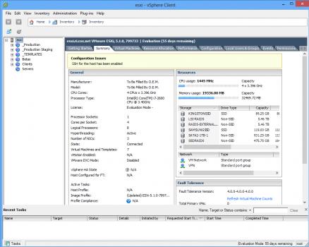 ESXi vSphere Client 438x350 ESXi – краткое резюме