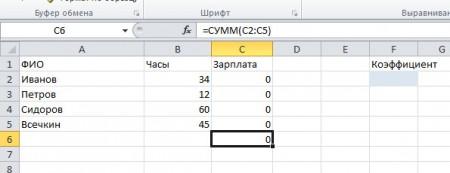 Excel poisk reshenija 4 450x173 Линейное программирование с пакетом MS Excel