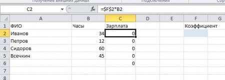 Excel poisk reshenija 51 450x161 Линейное программирование с пакетом MS Excel