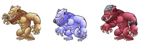 monsters 450x150 Моя первая игра. Публикация в Google Play.