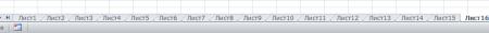 excel mnogo listov 450x31 Как «распараллелиться» в Excel