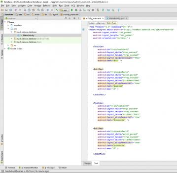 3 359x350 Как работать с базой данных SQLite в Android Studio
