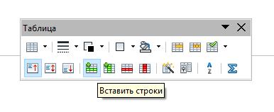 form 3 Чем заменить Word? Работа с таблицами в программе Open Office Writer!