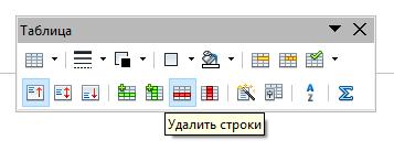 form 4 Чем заменить Word? Работа с таблицами в программе Open Office Writer!