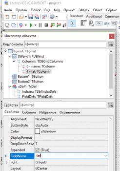 17 246x350 База данных в бесплатном аналоге Delphi   среде разработки Lazarus