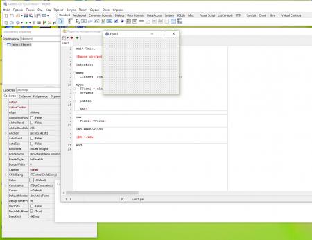 4 450x346 База данных в бесплатном аналоге Delphi   среде разработки Lazarus