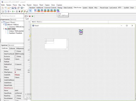 6 450x335 База данных в бесплатном аналоге Delphi   среде разработки Lazarus