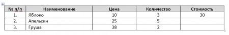 10 450x69 Вычисления в текстовом редакторе